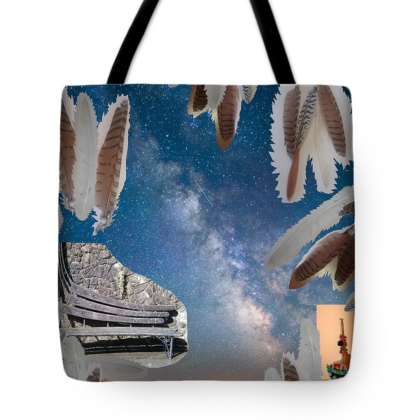Dreaming Bench Tote Bag