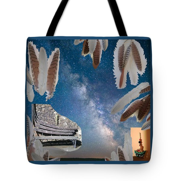 Dreaming Bench Tote Bag