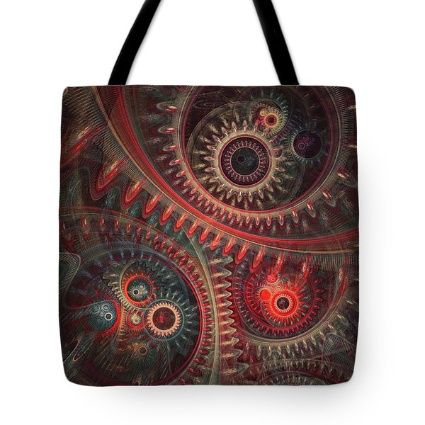 Dreaming Clocksmith Tote Bag by Martin Capek