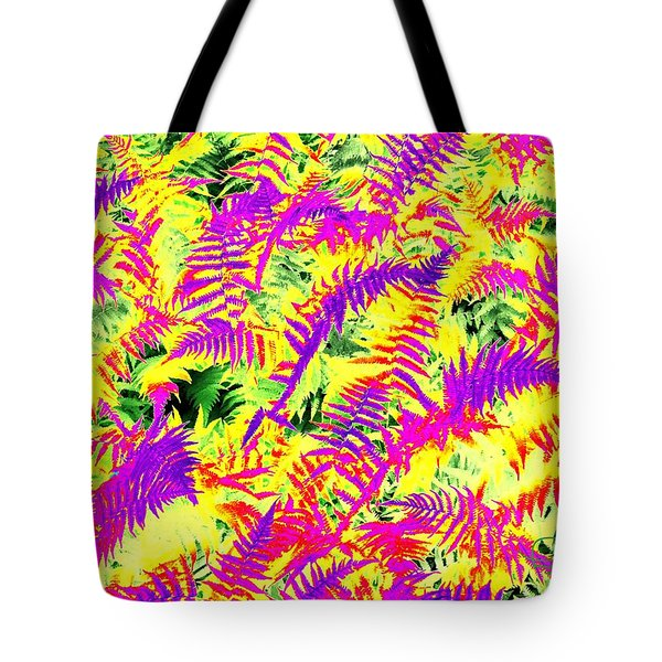 Tote Bag featuring the photograph Dreaming Ferns by Ludwig Keck