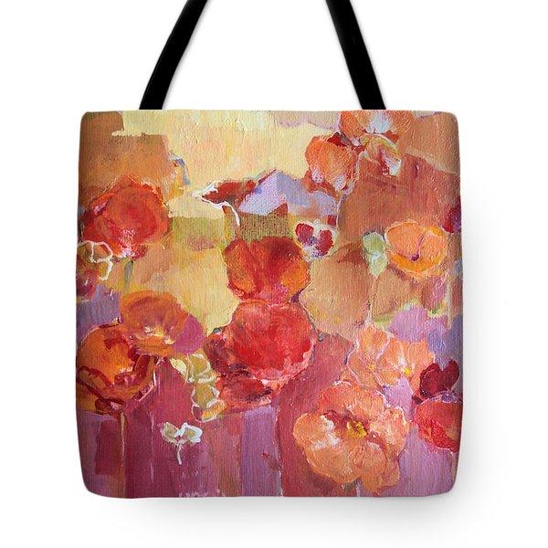 Dreaming Flowers Tote Bag