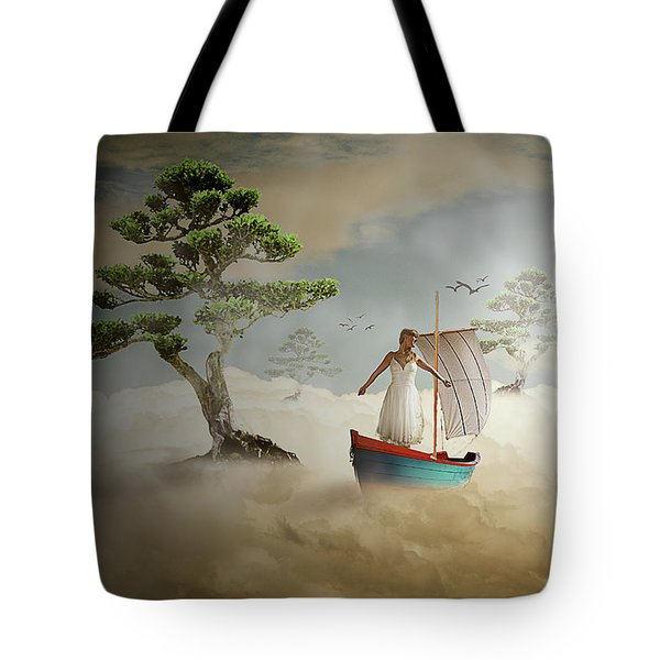 Dreaming High Tote Bag by Nathan Wright