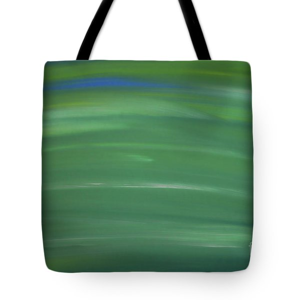 Floating In Green Tote Bag