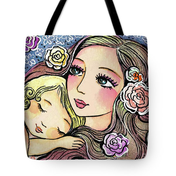 Dreaming In Roses Tote Bag