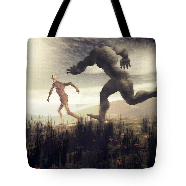 Dreaming Of A Nameless Fear Tote Bag