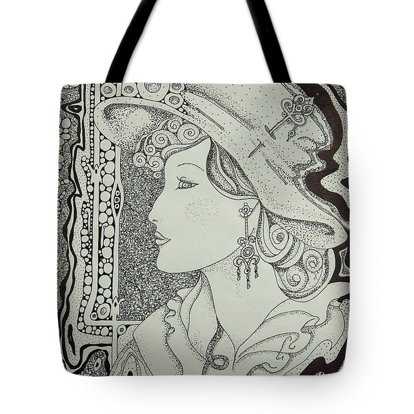 Dreaming Of Another Time Tote Bag