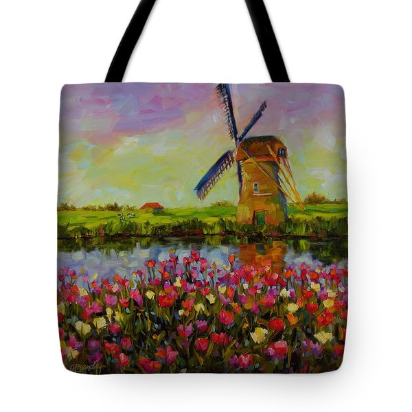 Dreaming Of Holland Tote Bag