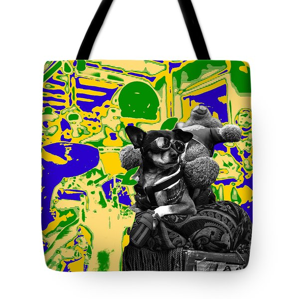 Dreaming Of Mardi Gras Tote Bag by John Rizzuto