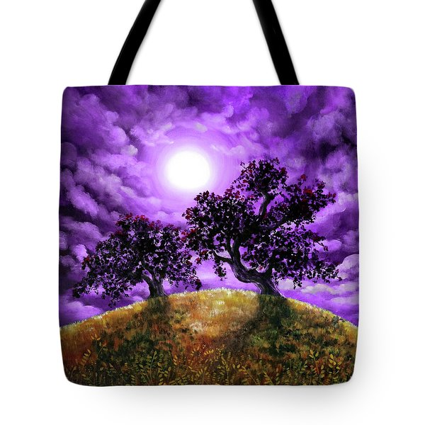 Dreaming Of Oak Trees Tote Bag by Laura Iverson
