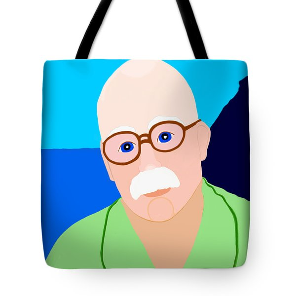 Dreaming Of Retiring To Hawaii Tote Bag by Marian Cates