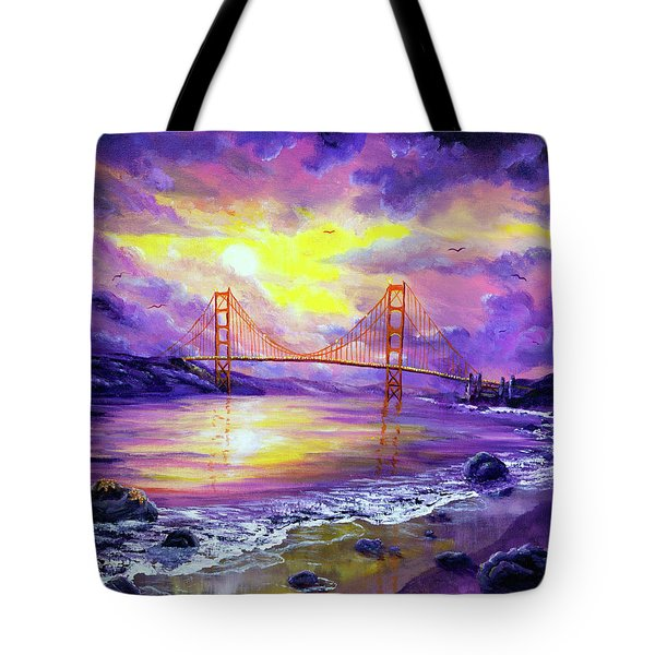 Dreaming Of San Francisco Tote Bag