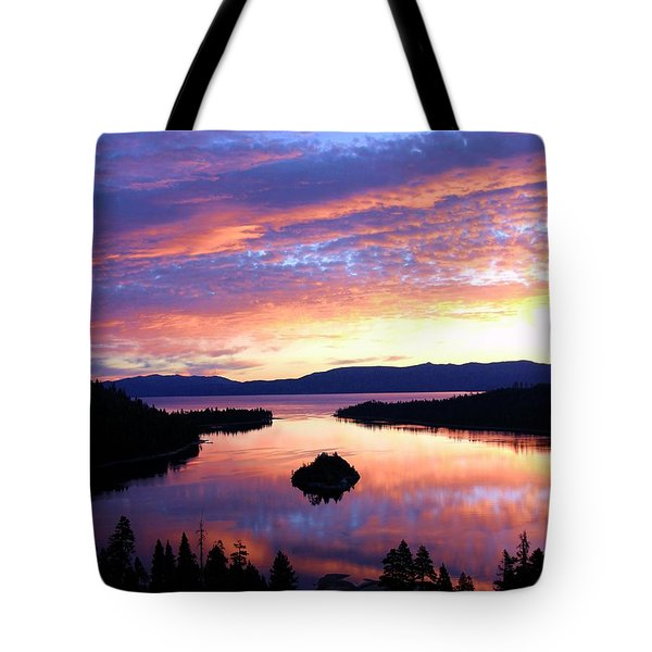 Tote Bag featuring the photograph Dreaming Of Sunrise by Sean Sarsfield