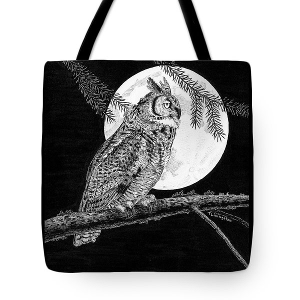 Dreaming Of The Night Tote Bag