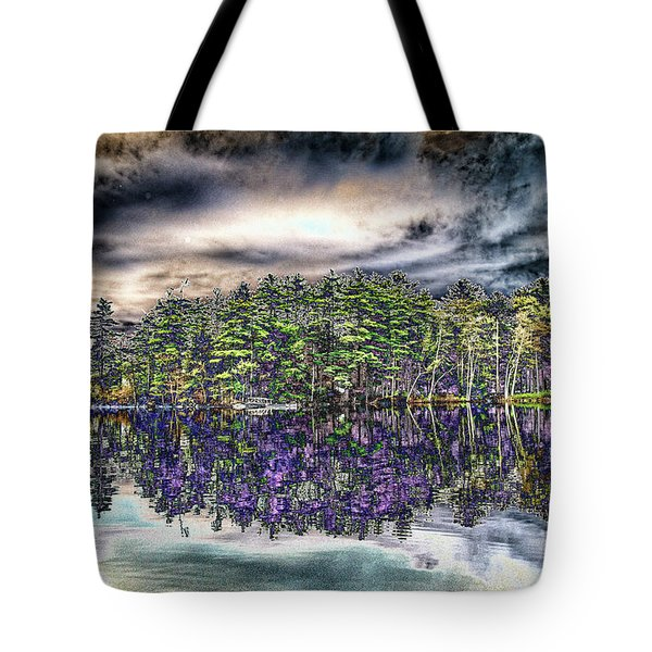 Dreaming Of The Past Tote Bag by Daniel Hebard