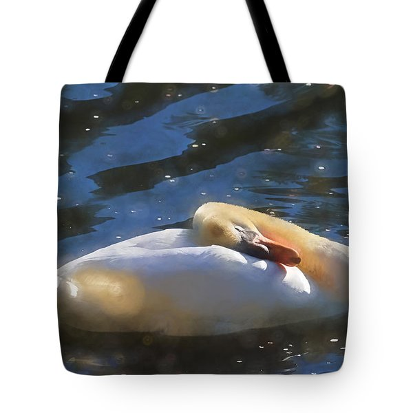 Dreaming On A Feather Pillow Tote Bag