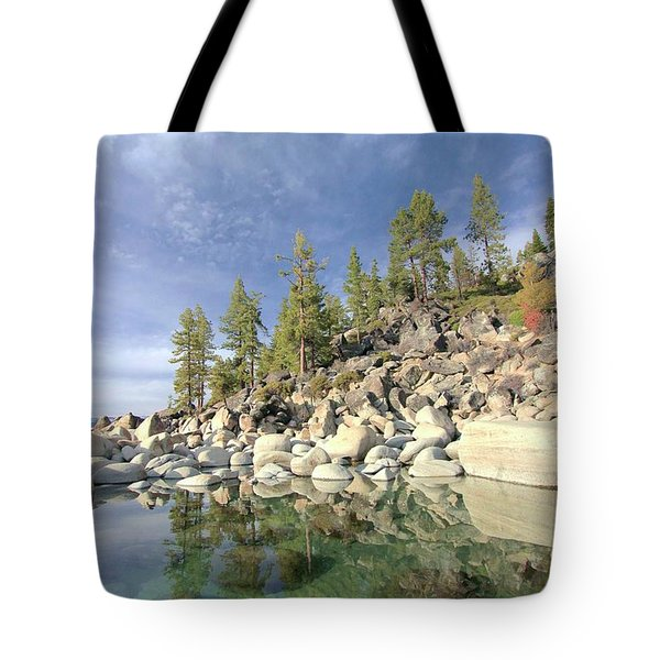 Tote Bag featuring the photograph Dreaming Pond by Sean Sarsfield