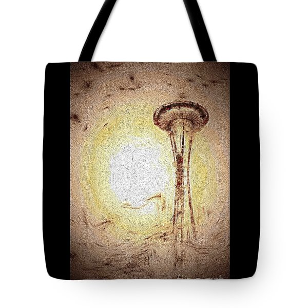 Dreaming Seattle Tote Bag