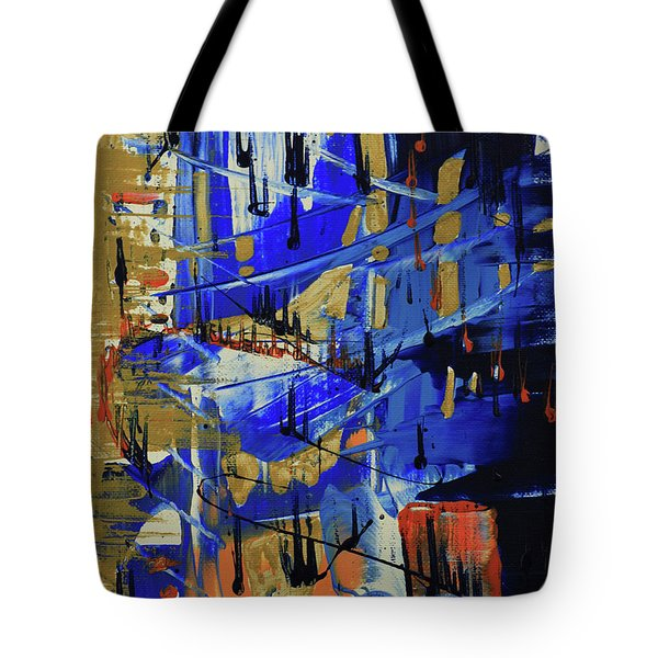 Dreaming Sunshine II Tote Bag by Cathy Beharriell