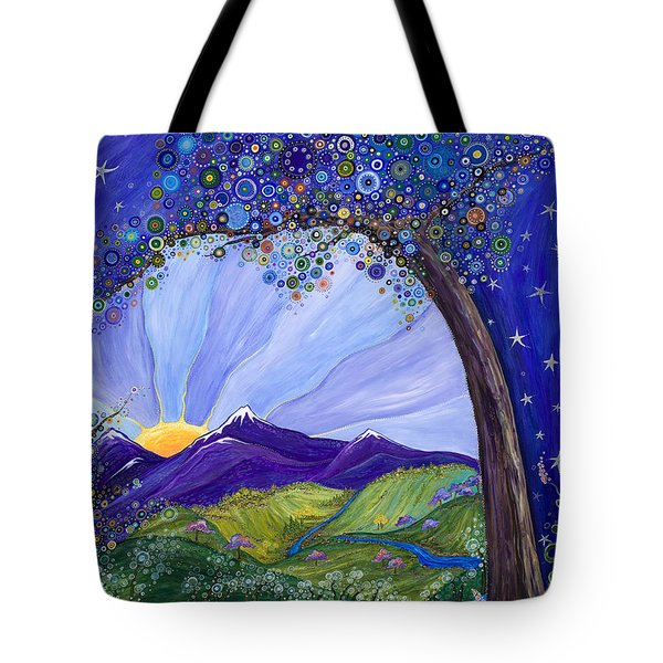 Dreaming Tree Tote Bag by Tanielle Childers