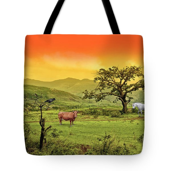 Tote Bag featuring the photograph Dreamland by Charuhas Images