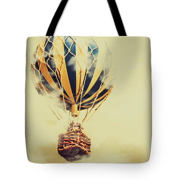 Dreams And Clouds Tote Bag