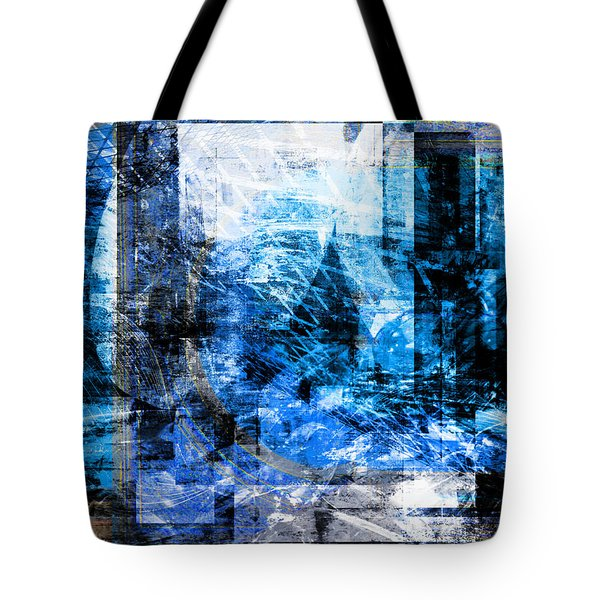 Tote Bag featuring the digital art Dreams At A Vintage Cafe by Art Di