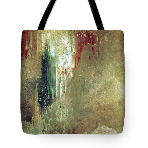 Dreams Come True - Earth Tone Art - Contemporary Pastel Color Abstract Painting Tote Bag