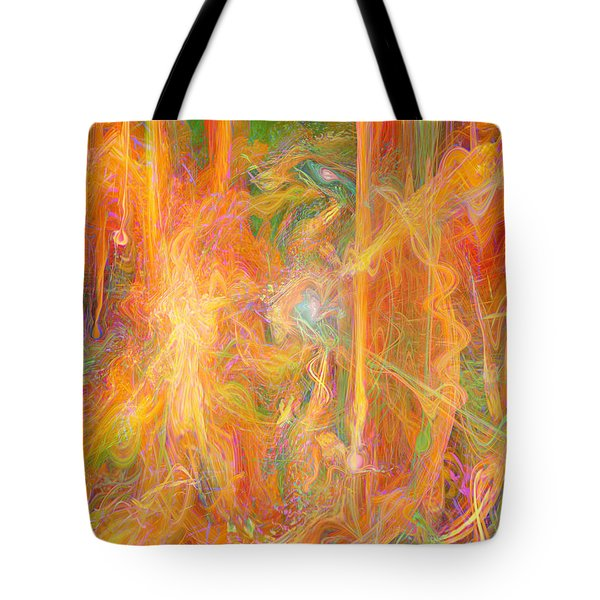 Dreams In Color Tote Bag by Linda Sannuti