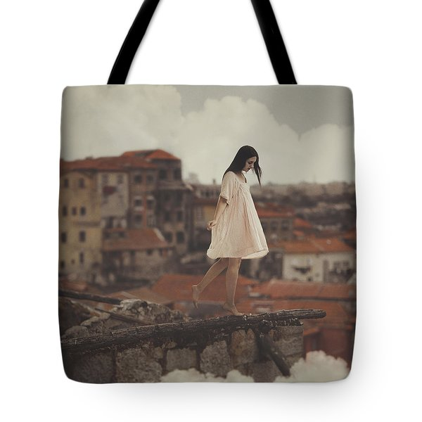 Dreams In Old Porto Tote Bag by Anka Zhuravleva