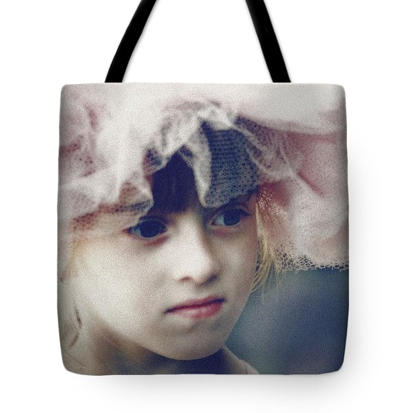 Dreams In Tulle 2 Tote Bag by Marna Edwards Flavell