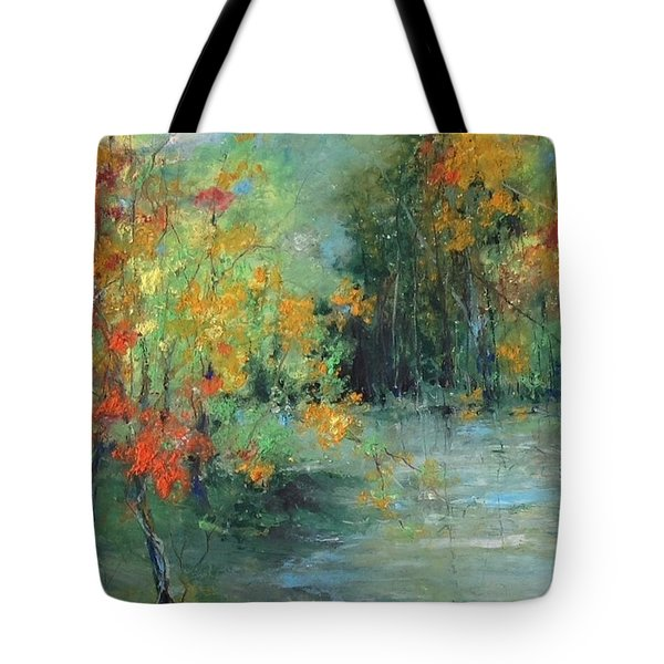 Dreams Of Autumn #1 Paradise On Pontchartrain Tote Bag