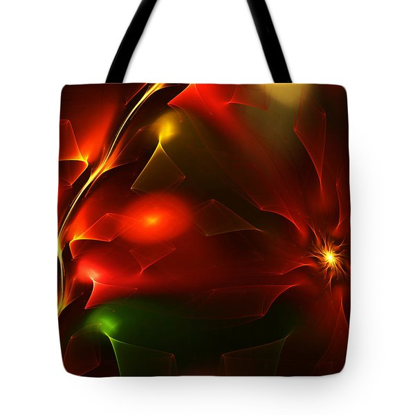 Dreams Of Christmas Past Tote Bag