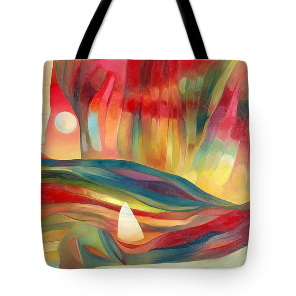 Tote Bag featuring the painting Dreams Of Cuba by Linda Cull