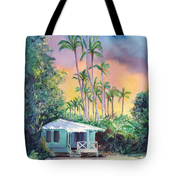 Dreams Of Kauai Tote Bag by Marionette Taboniar