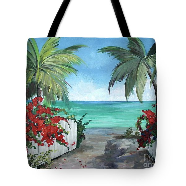 Dreams Of St. John Tote Bag by Kristen Abrahamson