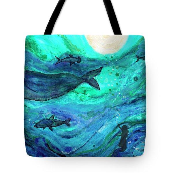 Dreams Of The Deep Tote Bag