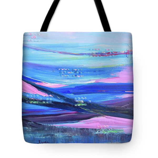 Tote Bag featuring the painting Dreamscape by Irene Hurdle
