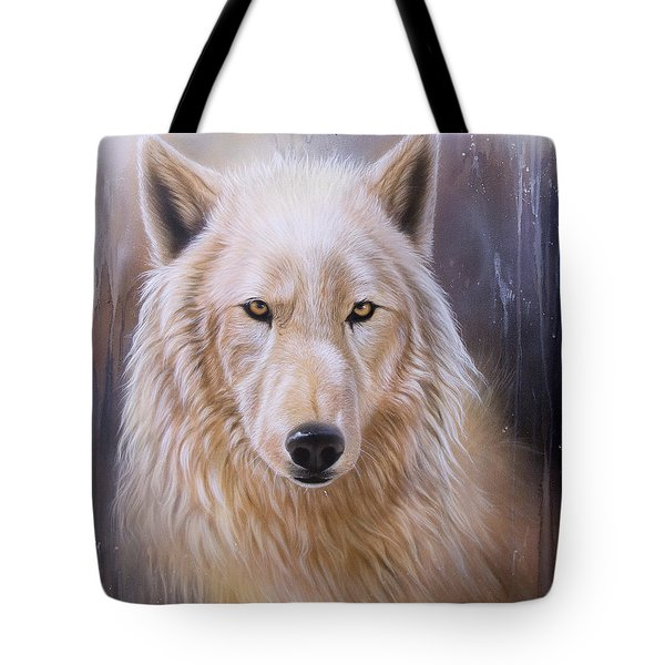Dreamscape Wolf IIi Tote Bag by Sandi Baker
