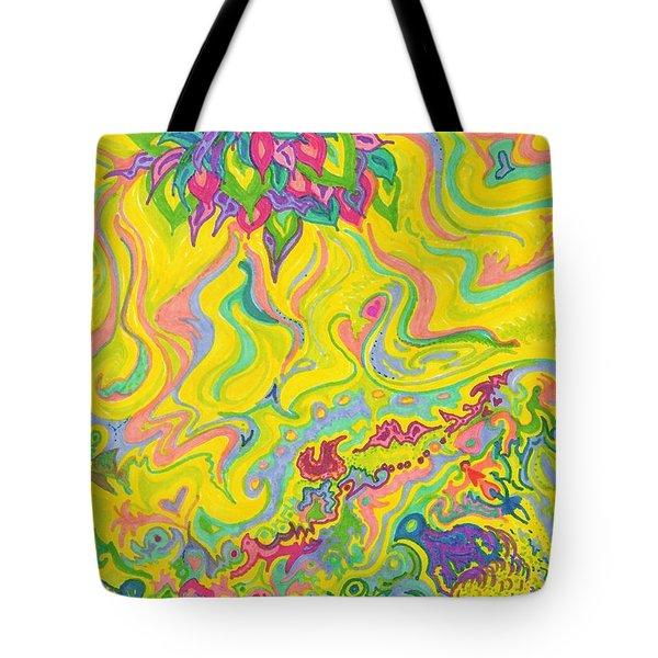 Dreamscaped Swamp-garden 1 Tote Bag