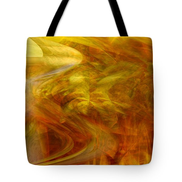 Dreamstate Tote Bag by Linda Sannuti