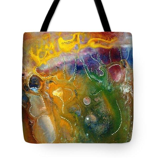 Dreamtime Tote Bag by Lee Pantas