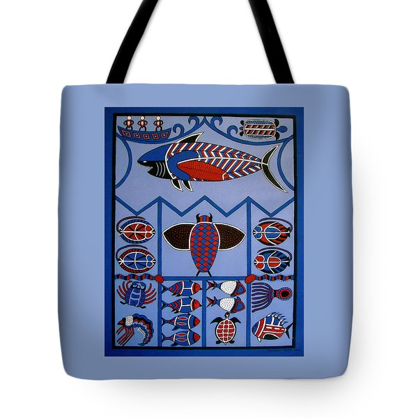 Tote Bag featuring the painting Dreamtime by Stephanie Moore