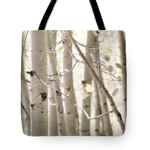 Dreamy Aspen Woodland Tote Bag by Andrea Hazel Ihlefeld