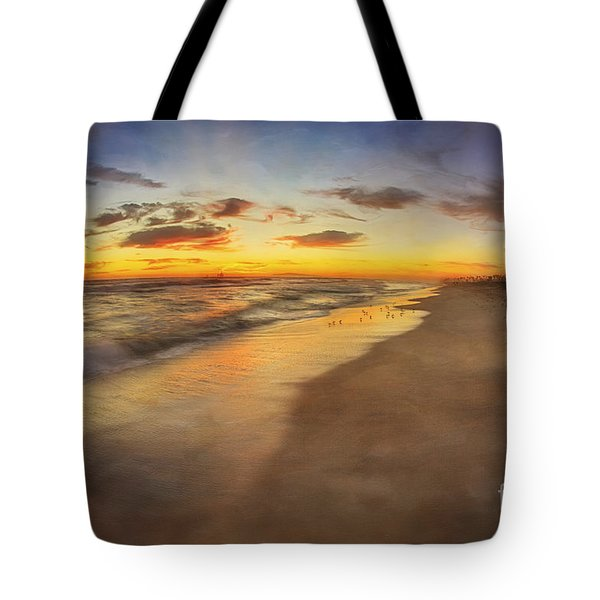Dreamy Colorful Sunset Tote Bag