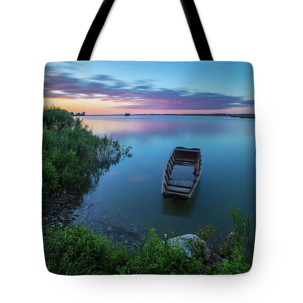 Tote Bag featuring the photograph Dreamy Colors Of The East by Davor Zerjav