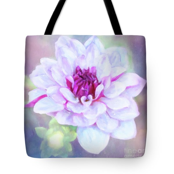 Dreamy, Delightful Dahlia Tote Bag