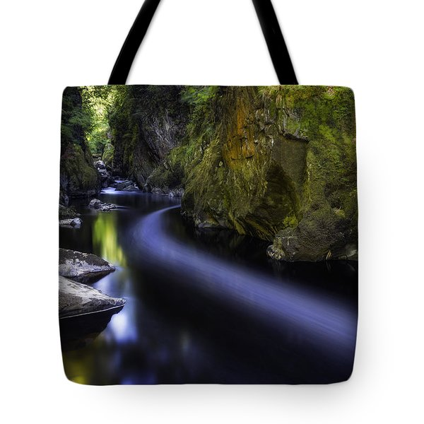 Dreamy Fairy Glen Tote Bag by Ian Mitchell