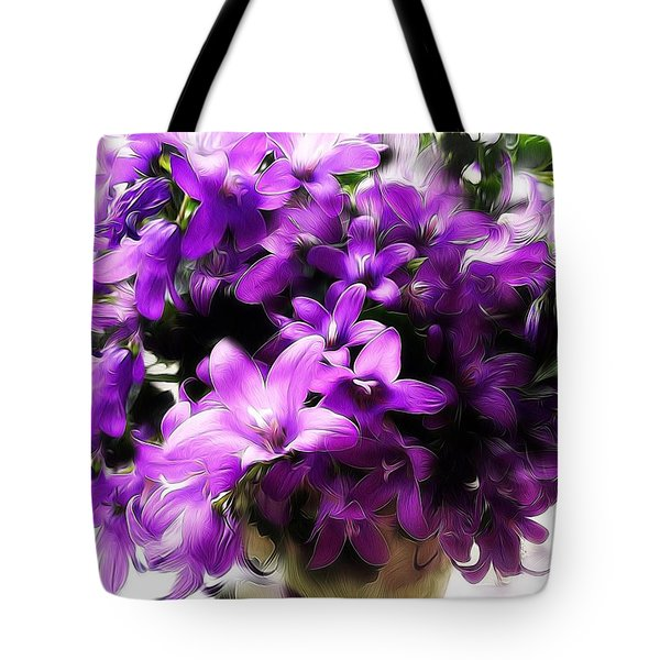 Dreamy Flowers Tote Bag