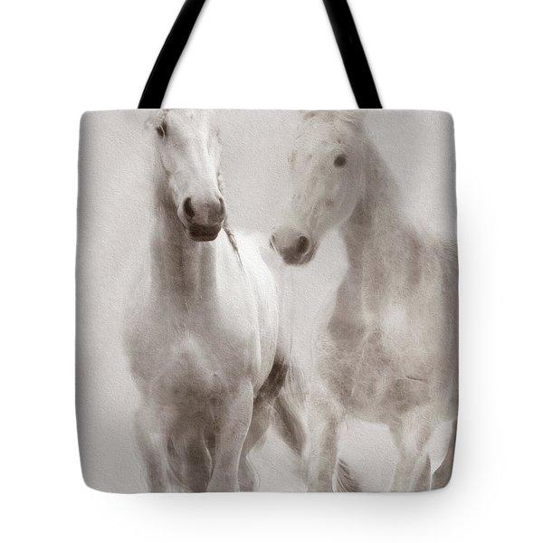 Dreamy Horses Tote Bag