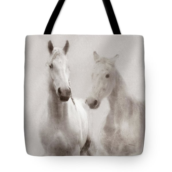 Dreamy Horses Tote Bag